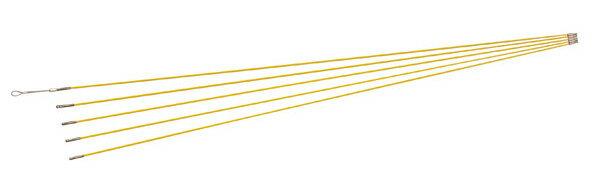 ジェフコム デンサン 電設作業工具 ジョイント釣り名人スリム 1.5m×5本 JF-475