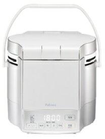 (キャッシュレス5%還元)(送料無料)パロマ PR-M09TV 都市ガス用 マイコン電子ジャー付 ガス炊飯器 炊きわざ 0.9L 5.0合 プレミアムシルバー×アイボリー