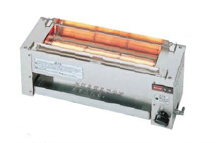 (送料無料)リンナイ RGK-61D プロパンガス用 ガス赤外線グリラー(下火式) 串焼61号