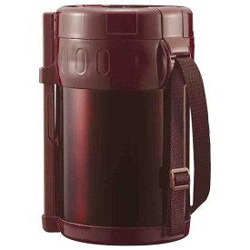 保温弁当箱 大容量 2L スタイラス ランチジャー ブラウン