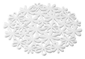 ナベ敷きフラワーホワイト