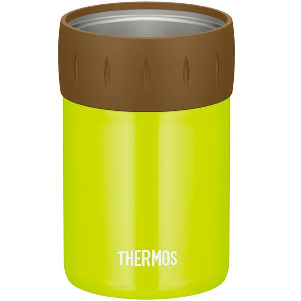 サーモス 保冷缶ホルダー 350ml缶用 ライムグリーン(LMG) JCB-352