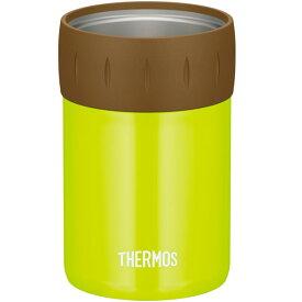 サーモス ビール缶 保冷缶ホルダー 350ml缶用 ライムグリーン JCB-352   THERMOS 保冷 カバー 缶ビール 缶ジュース 缶飲料 アウトドア キャンプ 缶クーラー 冷たい 長持ち クール