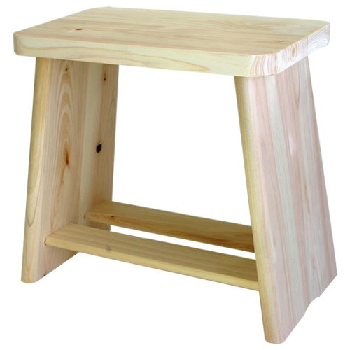 ヒノキ風呂椅子 大