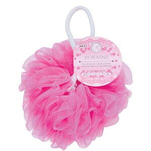 ロレーヌ 泡立てネットボール ボディ用 ピンク