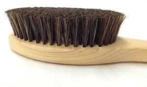 品質主義ボディブラシヒノキ馬毛