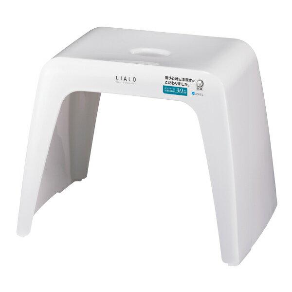 風呂椅子 リアロ 高さ30cm ホワイト ( 風呂 イス バスチェア )