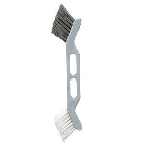 清掃ブラシ 2Way目地ブラシ | ブラシ タイル隙間 パッキン 窓 サッシ