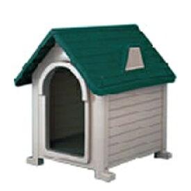 犬小屋 屋外 リッチェル ペットハウスDX-490 ダークグリーン(DG)
