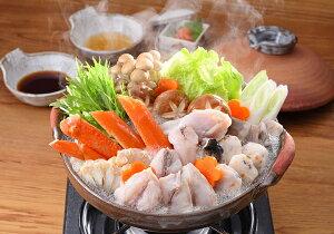 蟹とふくの紅白ちり鍋詰合せ お歳暮 お中元 冷凍便【送料無料・代引き/同梱不可】