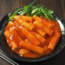 【冷凍・冷蔵可】韓国棒餅の甘辛煮込み「トッポギ(トッポッギ・トッポッキ・トッポキ)」700g(ソース漬けのお餅26本入)