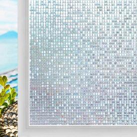 【2m切売り】窓ガラスフィルム 遮光シート 巾90cmx200cm おしゃれ 浴室 風呂 窓 目隠しシート 結露防止 結露対策 飛散防止 断熱シート ステンドグラスシール めかくしシート 断熱遮光遮熱 UVカット 静電吸着 日よけ シート 遮光フィルム 窓ガラス
