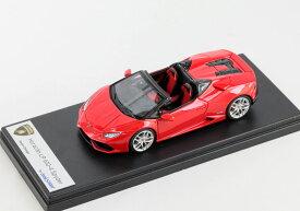 LOOKSMART(ルックスマート) 1/43完成品 LS452F ランボルギーニ ウラカン LP610-4 Spyder Rosso Mars (パールレッド)