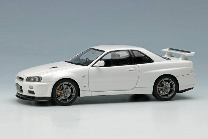 EIDOLON(アイドロン) 1/43完成品 EM371B ニッサン スカイライン GT-R (BNR34) V-spec II 2000 ホワイトパール