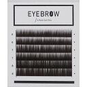 【ダークブラウン】【眉毛エクステ】【眉エク】【アイブロウ】長さミックス眉毛エクステ ダークブラウン 0.10mm×6mm,7mm,8mm【まゆエ…
