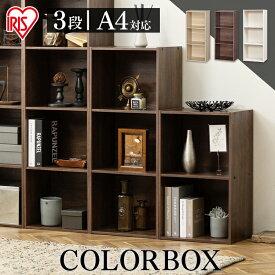 カラーボックス 3段 A4 CX-3F アイリスオーヤマ収納ボックス テレビ台 本棚 アイリスオーヤマ カラーボックス A4サイズ 収納 三段ボックス 3段ボックス 三段 収納用品 収納ラック 押入れ収納 [%OFF家具]