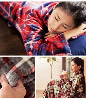 着る毛布ルームウェア毛布着る毛布静電気を防ぐ保湿ロングサイズ送料無料着る毛布かわいいメンズレディース大人ショート丈全身ルームウエアロングあったか暖かい秋冬ペア北欧fondan【D】