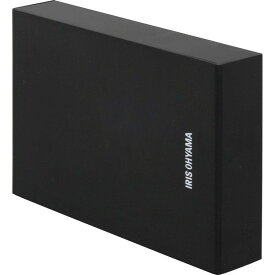 テレビ録画用 外付けハードディスク 1TB HD-IR1-V1 ブラック ハードディスク HDD 外付け テレビ 録画用 録画 縦置き 横置き 静音 コンパクト シンプル LUCA ルカ レコーダー USB 連動 アイリスオーヤマ 液晶テレビ 一人暮らし