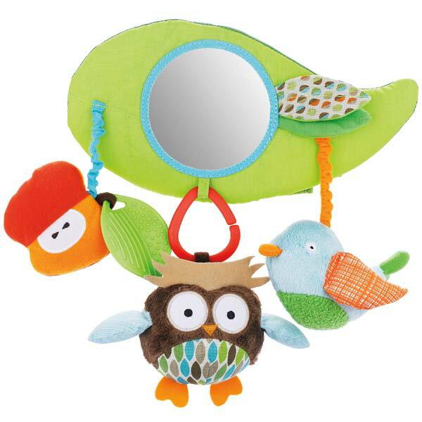 送料無料 SKIP HOP ツリートップフレンズ・ストローラーバー TYSH185600【D】【おもちゃ・玩具】
