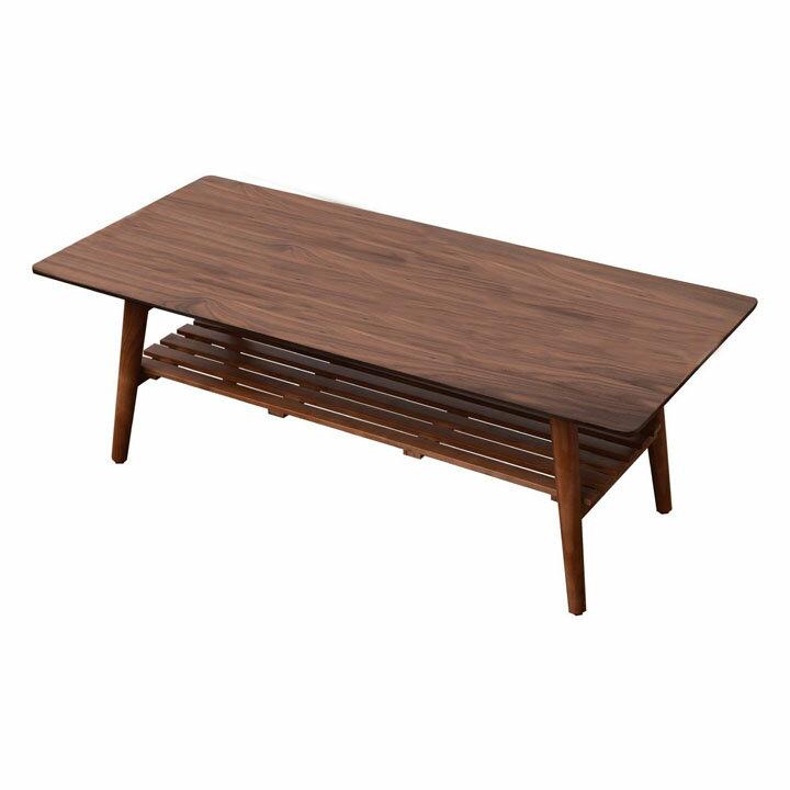 [楽天カード全品5倍]送料無料 【テーブル 机】ウォールナットスクエアテーブル【センターテーブル リビング】 TAT-0019・ブラウン【代引き不可】