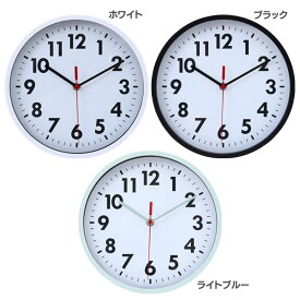 時計 壁掛け おしゃれ 壁掛け時計 ミーナ 53586・53587・53588 掛け時計 ウォールクロック 時計 おしゃれ 壁掛け 時計 アナログ 壁 北欧 シンプル スイープムーブメント ホワイト・ブラック・ライトブルー【D】