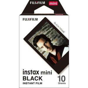 チェキフィルム INSTAX MINI BLACK FRAME WW1 インスタントフィルム インスタント フィルム チェキ チェキ用 インスタントカメラ ポラロイドカメラ インスタントカメラ用 ポラロイド用 おしゃれ か