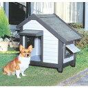 コテージ犬舎 CGR-830 グレー アイリスオーヤマ 【ペット用品・犬】[PTYS] [cpir]