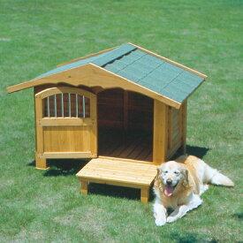 送料無料 ロッジ犬舎 RK-1100 ブラウン アイリスオーヤマ 【ペット用品・犬】[PTYS]
