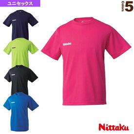 [ニッタク 卓球 ウェア(メンズ/ユニ)]ドライTシャツ/ユニセックス(NX-2062)
