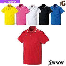 [スリクソン テニス・バドミントン ウェア(メンズ/ユニ)]ポロシャツ/ユニセックス(SDP-1515)テニスウェア男性用
