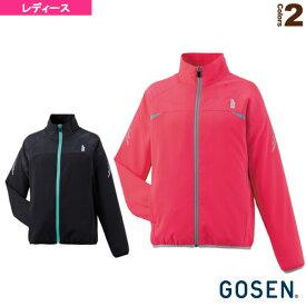 [ゴーセン テニス・バドミントン ウェア(レディース)]ライトウィンドジャケット/レディース(Y1601)バドミントンウェア女性用