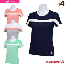 [ルコック オールスポーツ ウェア(レディース)]半袖シャツ/レディース(QB-015161)