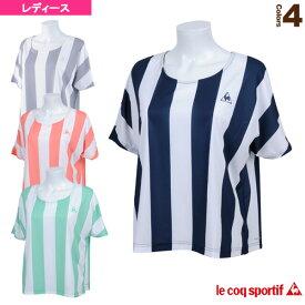 [ルコック オールスポーツ ウェア(レディース)]半袖シャツ/レディース(QB-015261)