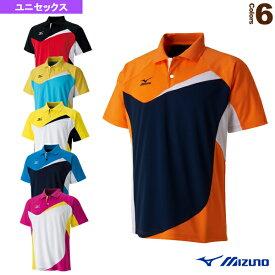 [ミズノ テニス・バドミントン ウェア(メンズ/ユニ)]ゲームシャツ/ユニセックス(62JA6013)
