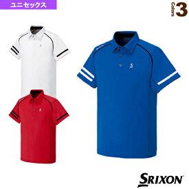 [スリクソン テニス・バドミントン ウェア(メンズ/ユニ)]ポロシャツ/ユニセックス(SDP-1603)テニスウェア男性用
