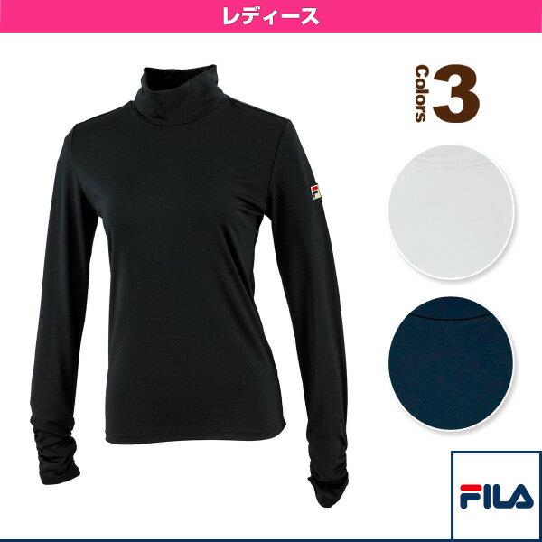 [フィラ テニス・バドミントン ウェア(レディース)]ロングスリーブシャツ/レディース(VL1417)