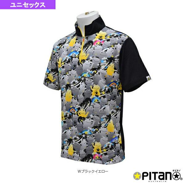 [オピタノ テニス・バドミントン ウェア(メンズ/ユニ)]UVカット&クール・ジップアップシャツ/ユニセックス(OPT-121)