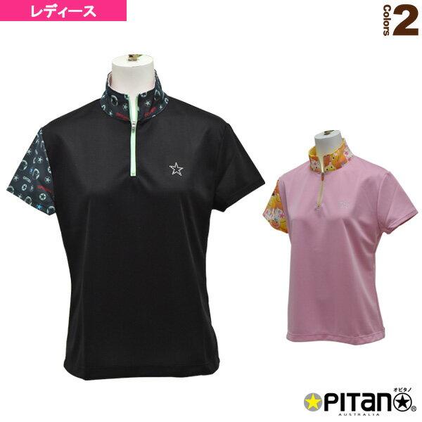 [オピタノ テニス・バドミントン ウェア(レディース)]UVカット&クール・ジップアップシャツRS/レディース(OPT-522RS)
