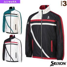 [スリクソン テニス・バドミントン ウェア(メンズ/ユニ)]ウインドジャケット/ユニセックス(SDW-4641)テニスウェア男性用