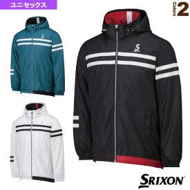 [スリクソン テニス・バドミントン ウェア(メンズ/ユニ)]ウインドジャケット/ユニセックス(SDW-4642)テニスウェア男性用