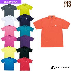 [ルーセント テニス・バドミントン ウェア(メンズ/ユニ)]ポロシャツ/ユニセックス(XLP-509/XLP-510)