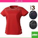 [プリンス テニス・バドミントン ウェア(レディース)]ゲームシャツ/レディース(WL6090)
