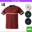 [テニス・バドミントン ウェア(メンズ/ユニ) プリンス]ゲームシャツ/ユニセックス(WU6021)