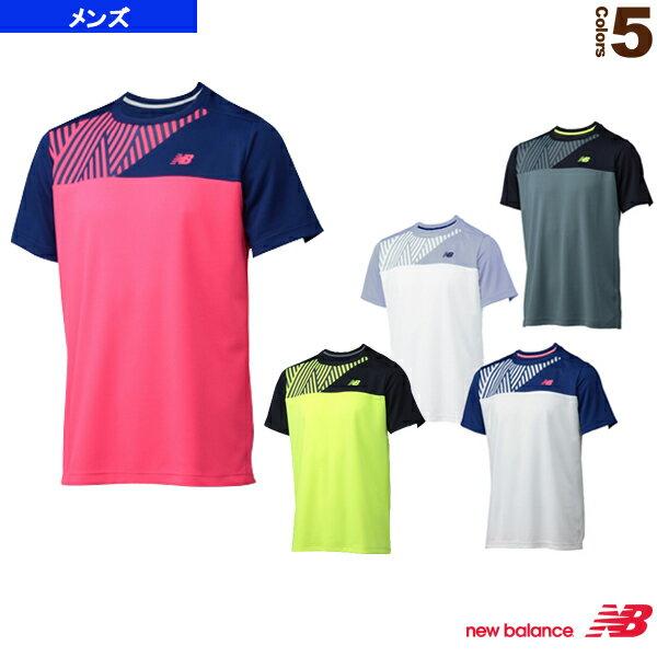 [ニューバランス テニス・バドミントン ウェア(メンズ/ユニ)]BR コンペティションカラーブロッククルー/メンズ(JMTT6674)
