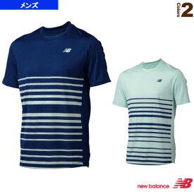 [ニューバランス テニス・バドミントン ウェア(メンズ/ユニ)]トーナメントショートスリーブシャツ/メンズ(MT63404)