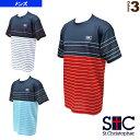[セントクリストファー テニス・バドミントン ウェア(メンズ/ユニ)]ボーダーゲームTシャツ/メンズ(STC-AGM1025)