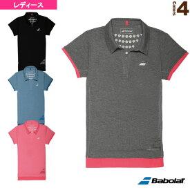 [バボラ テニス・バドミントン ウェア(レディース)]ゲームシャツ/レディース(BAB-1733W)