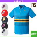 [プリンス テニス・バドミントン ウェア(メンズ/ユニ)]ゲームシャツ/ユニセックス(WU7105)