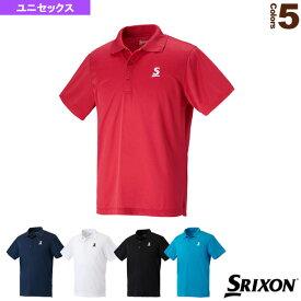[スリクソン テニス・バドミントン ウェア(メンズ/ユニ)]ポロシャツ/クラブライン/ユニセックス(SDP-1608)
