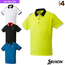[スリクソン テニス・バドミントン ウェア(メンズ/ユニ)]ポロシャツ/ユニセックス(SDP-1705)テニスウェア男性用